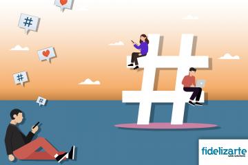 Como criar Hashtags