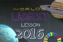 Unicef - World's Largest Lesson | VO Joana Seixas
